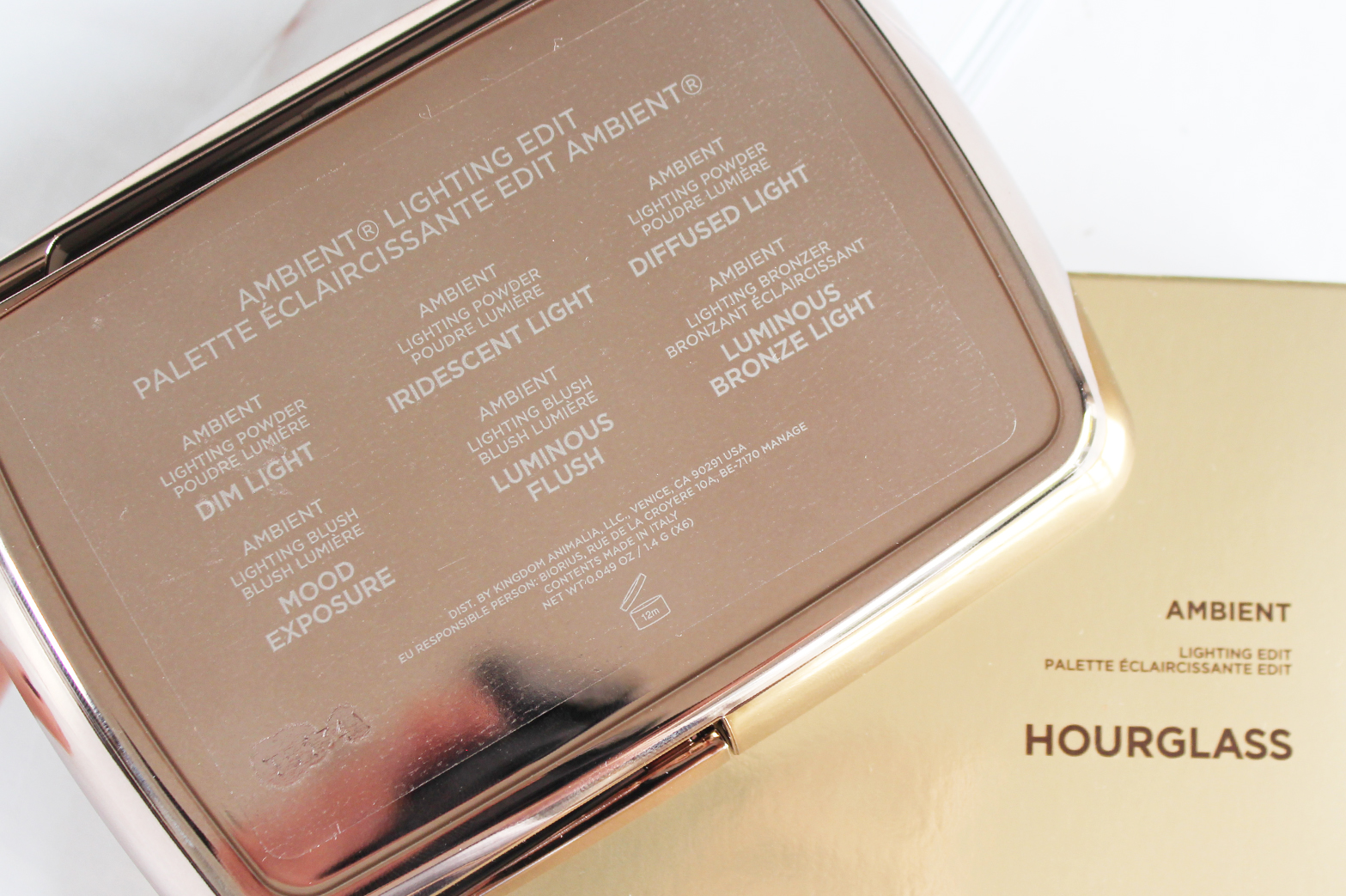 HOURGLASS | Ambient Lighting Edit - Review + Swatches - CassandraMyee