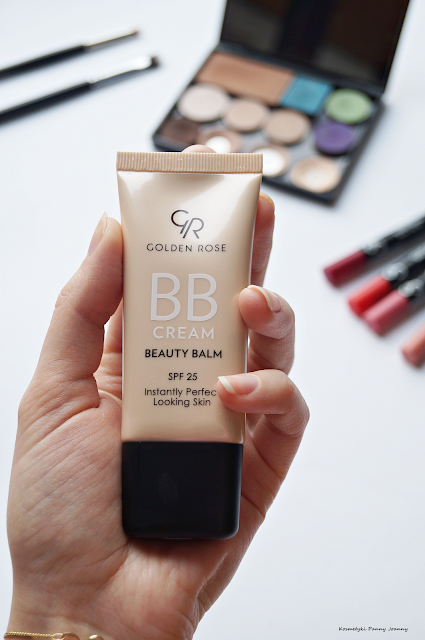 NOWOŚĆ Golden Rose krem BB CREAM BEAUTY BALM NO LIGHT moja opinia krem BB Golden Rose, krem BB
