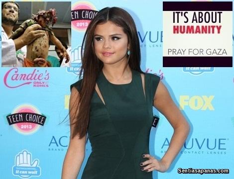Sokongan Selena Gomez Kepada Gaza Dikecam Peminat