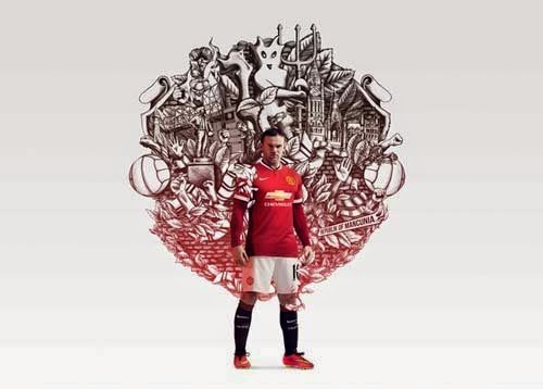 Nike released 2014/15 Manchester United home kit