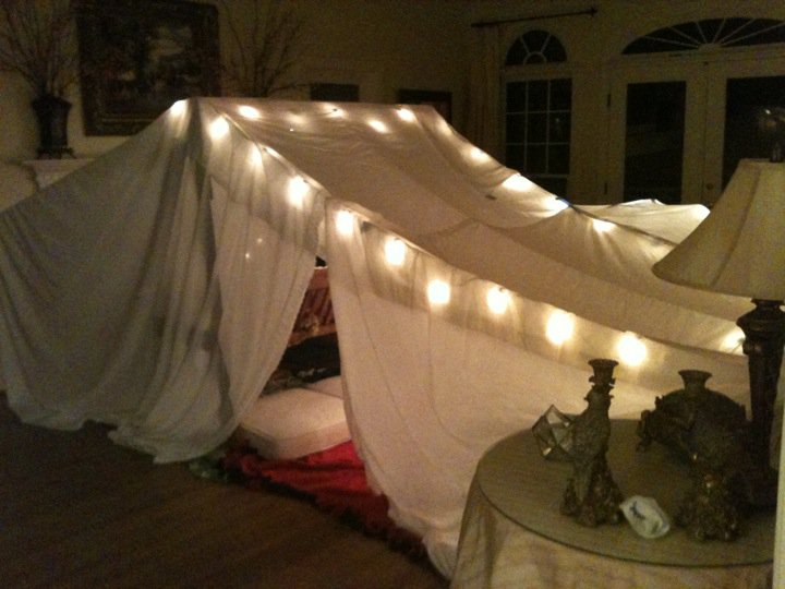 Blanket Forts Of Sorts