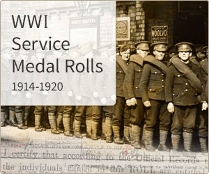 Campaign Medal Rolls 1914-1920