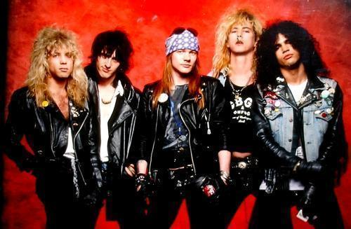 Guns N' Roses, Slash, Axl Rose, Coachella, Appetite for Destruction