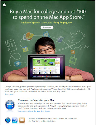 Click to view this June 16, 2011 Apple email full-sized