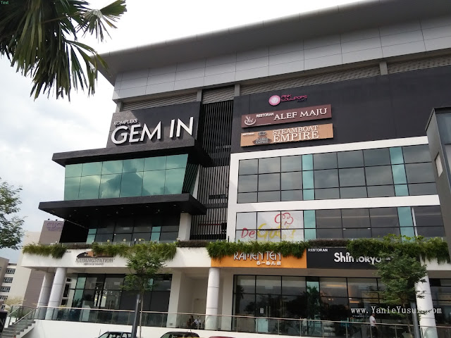 Steamboat Empire Cyberjaya, Steamboat Empire, Cyberjaya, Gem in mall