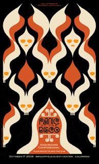 Panic At the Disco por Dan Stiles.
