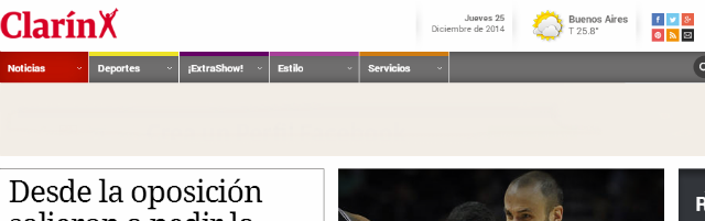Los periódicos más importantes de Argentina - Clarín
