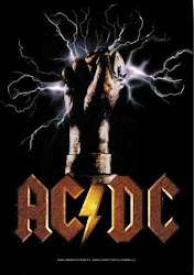 AC/DC fabric poster flag (NEW)