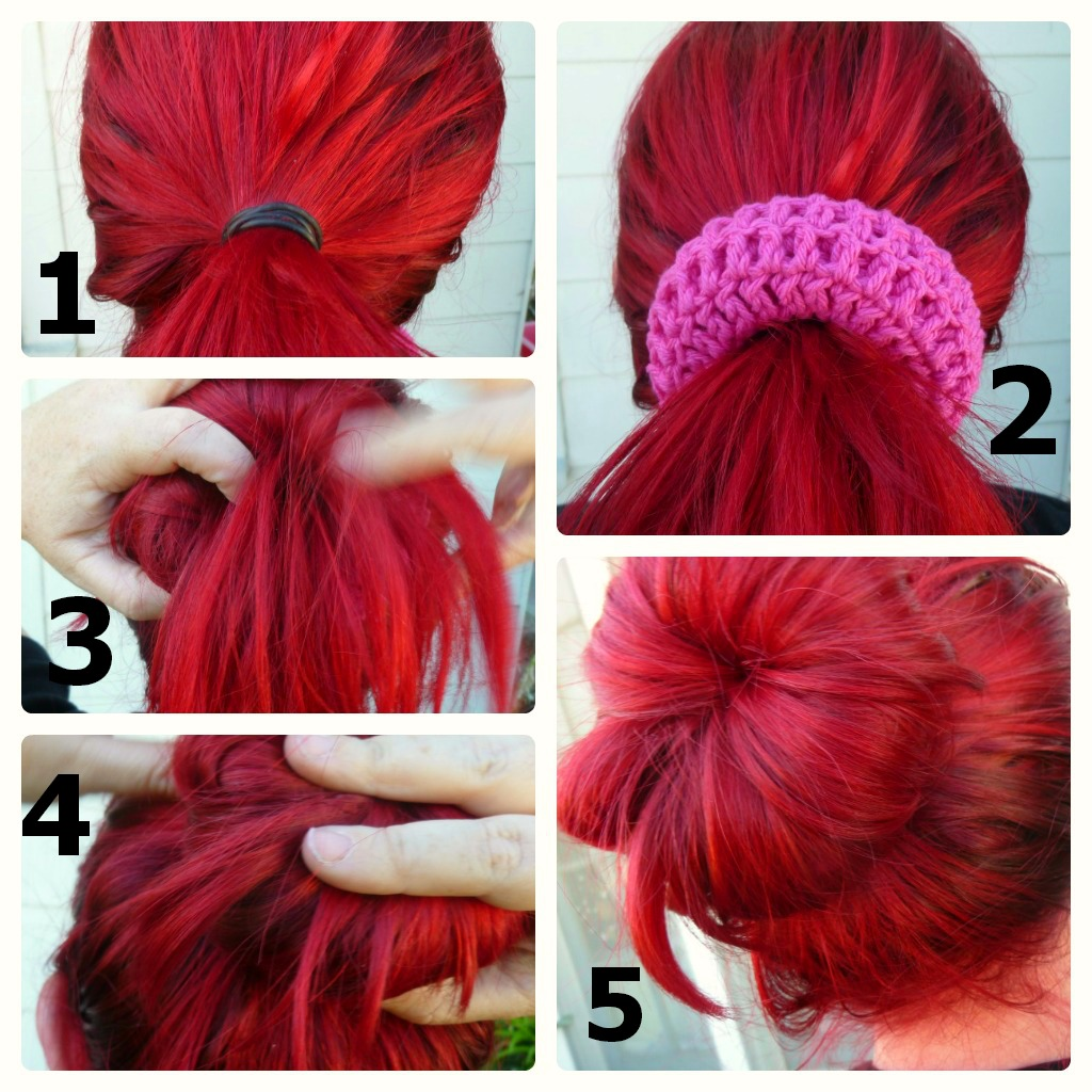 Crochet Hair In A Bun : bun shaper 5 show off your awesome huge bun d