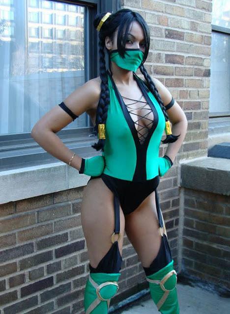 Jade, mortal kombat, cosplay, gatas, gostosas, gatas cosplay, mulheres mortal kombat, imagens, adulto, sexy, eu adoro morar na internet