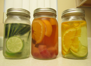 Manfaat Infused Water