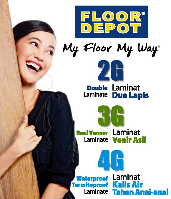 2G DOUBLE Laminate 3G REAL VENEER Laminate 4G WATER U0026 TERMITE PROOF  Laminate In View Of The Wide Variety Of Laminate Flooring Available Today, FLOOR  DEPOT ...