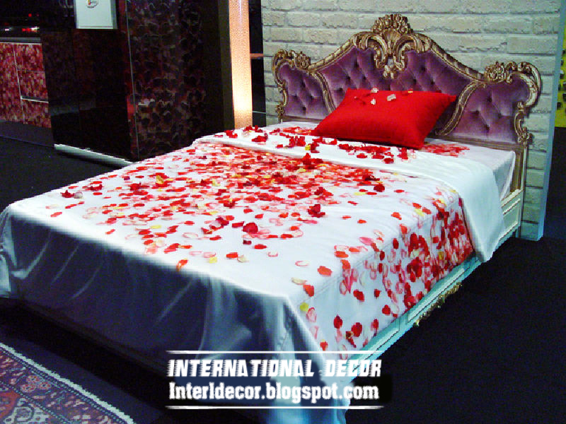 Romantic Bedroom Decorating Ideas For Valentineu0027s Day 2013 By Floral Bedding