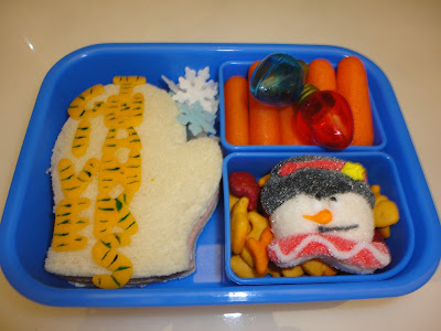 Give Thanks bento school lunch
