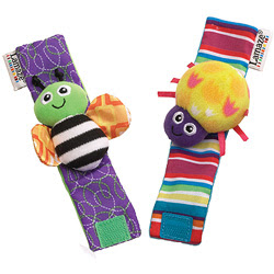 LAMAZE WRIST RATTLES 2