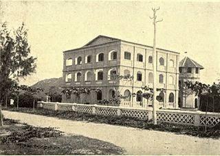 La maison de Yersin à Nha Trang, vers 1900