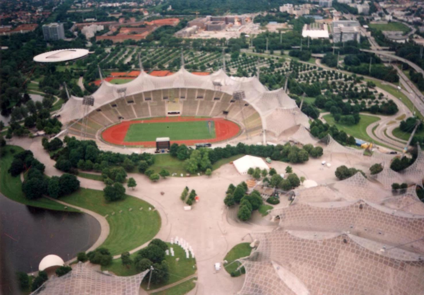 Olimpija stadium München,Njemačka