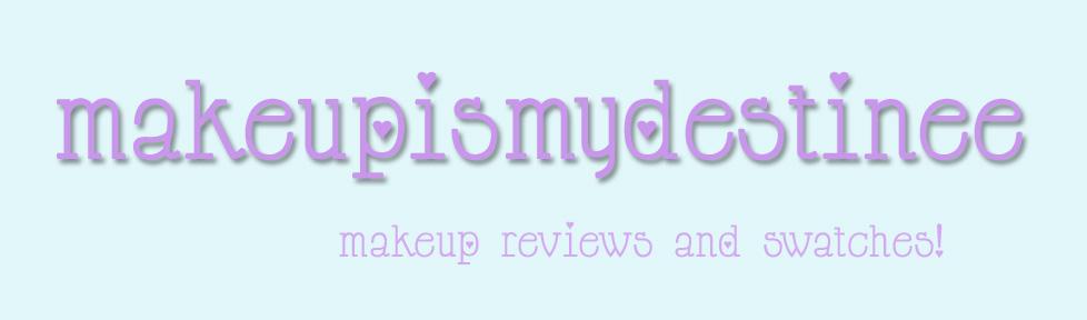 makeupismydestinee