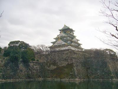 大阪城公園散歩・大阪城