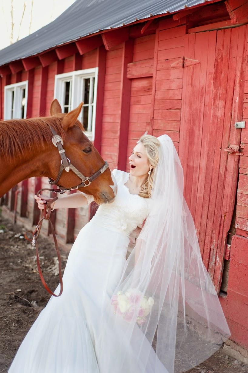 Wedding dresses lehi utah : Lehi and katelyn country cute bridals