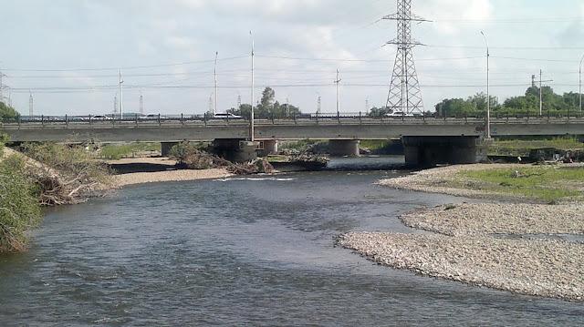 Мост через реку Силинка