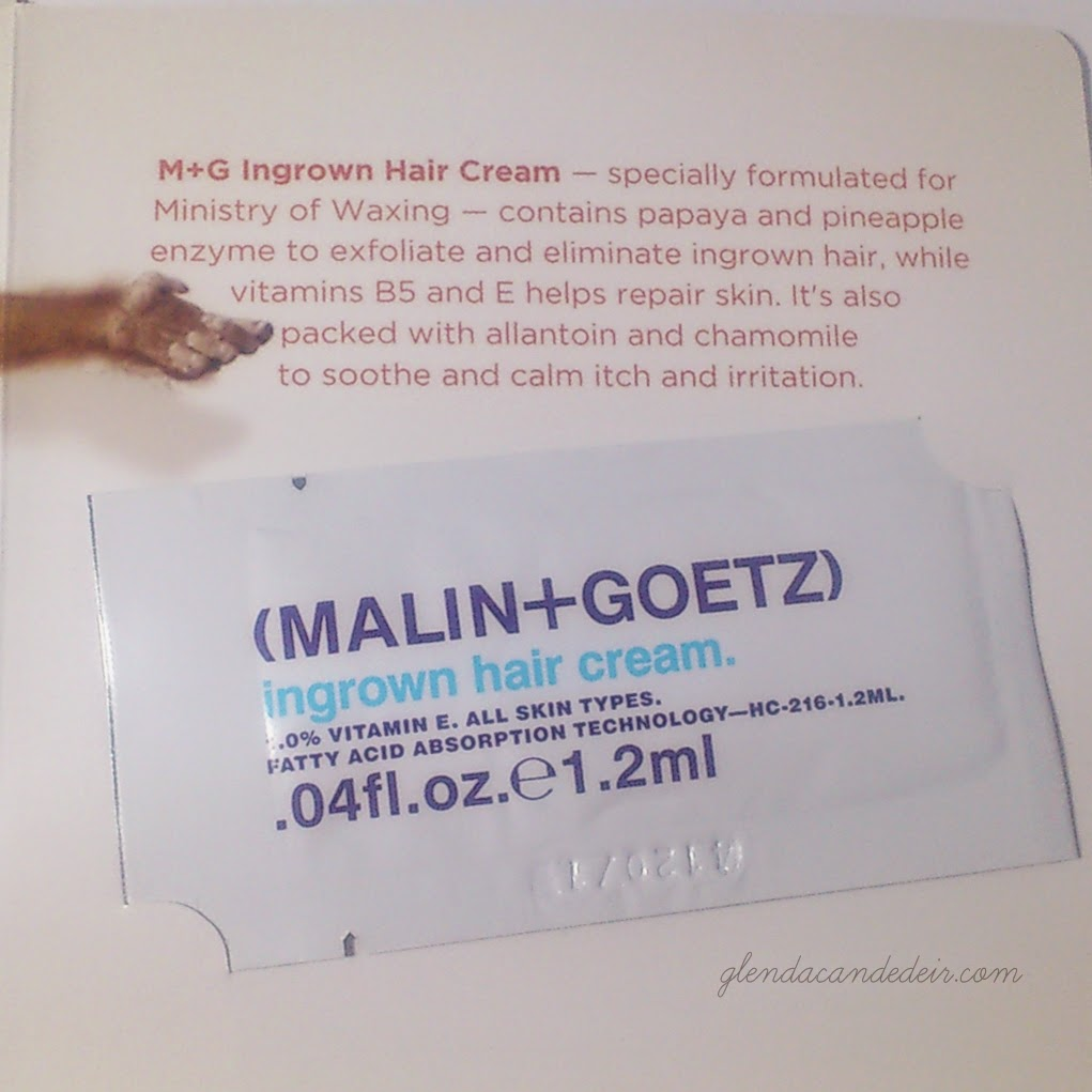 Strip RPT Kit - Malin+Goetz ingrown hair cream