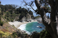 Big Sur Pfeiffer State Park ocean waterfall #billyrachelrose