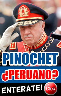 PINOCHET NACIO EN PERU