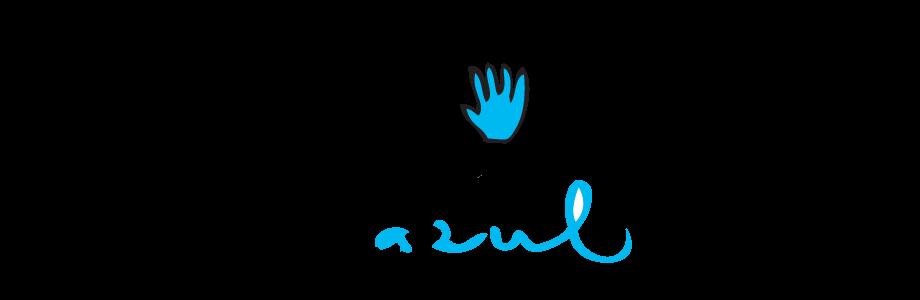 El guante azul