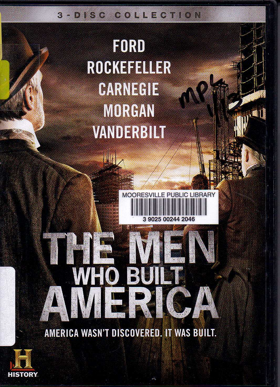 the man who built america