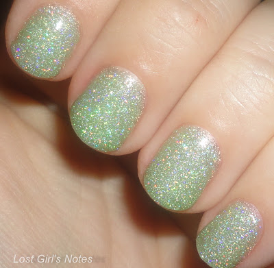 kleancolor holo green swatches