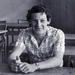 William Lesourd à Gaillon 27600 en 1975