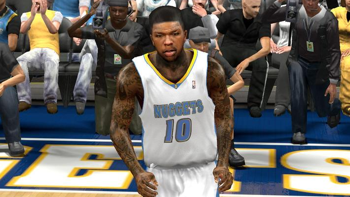 NBA 2K14 Nate Robinson Cyberface Patch