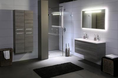 Badkamer spiegel verlichting verbeter het kleinste for Badkamerverlichting spiegel