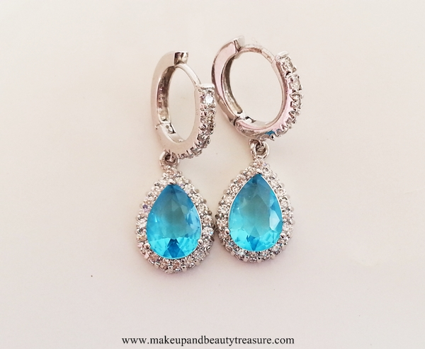 Blue-Pendant-Necklace-Drop-Earrings