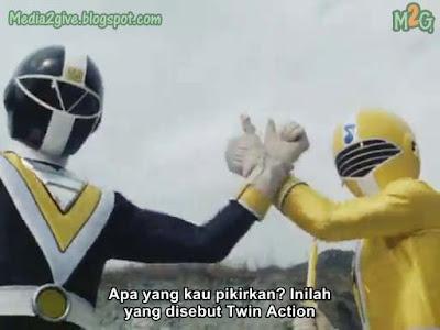 Chikyuu Sentai Fiveman Ep 5 Subtitle Indonesia