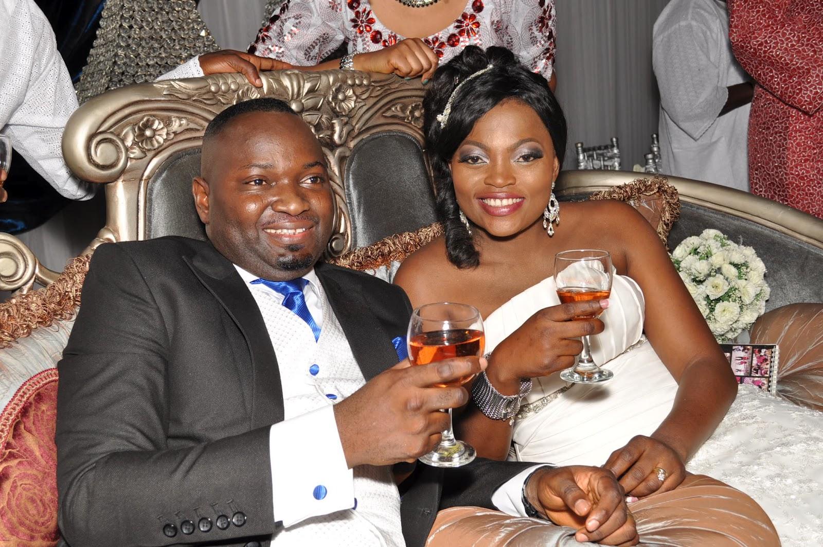 FUNKE AKINDELE WEDDING PHOTOS INI EDO GENEVIEVE NNAJI AND OTHERS GRACE THE ALL STAR