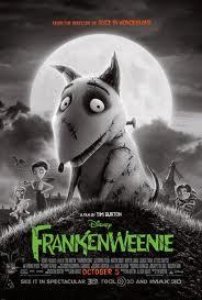 "Poster do filme ""Frankenweenie"""