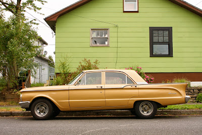 1961 Mercury Comet Sedan.