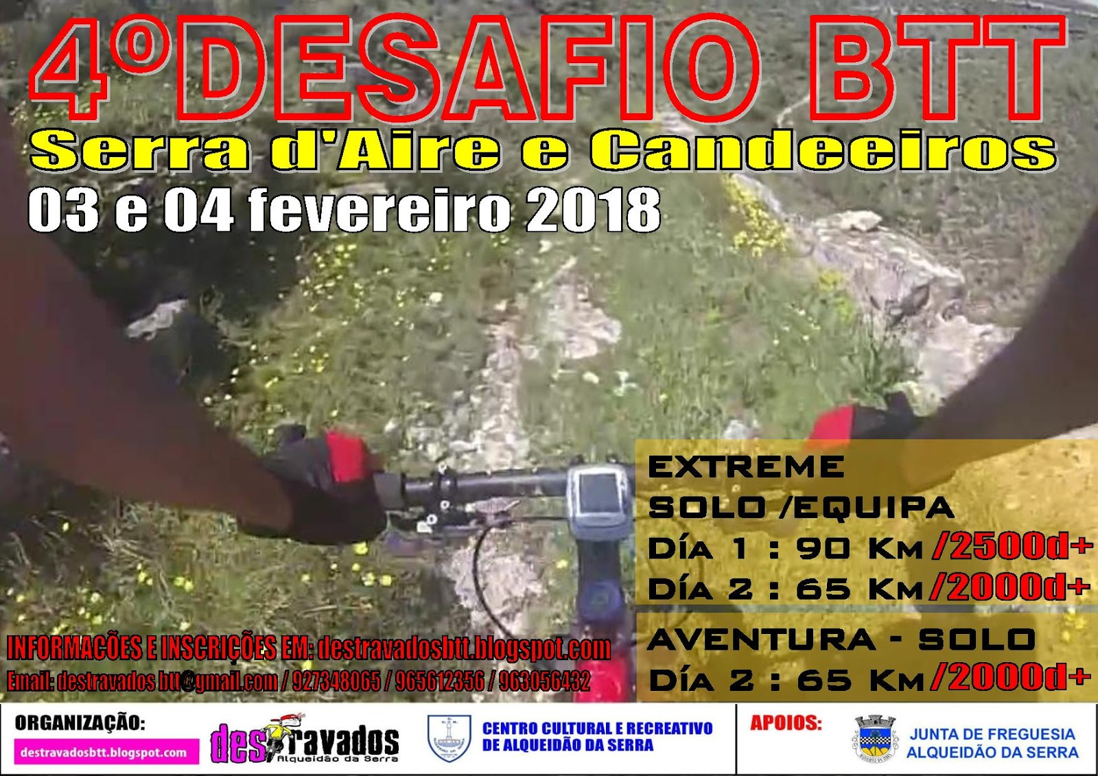 03»04FEV * SERRA D'AIRE – CANDEEIROS
