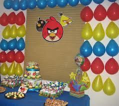 DECORACIONES CON ANGRY BIRDS decoracionesparafiestasinfantiles.blogspot.com