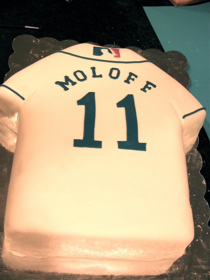 Baseball Jersey Cakes Baseball Jersey Cake