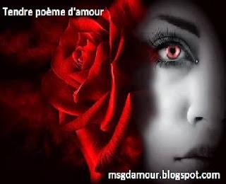 Tendre poème d'amour