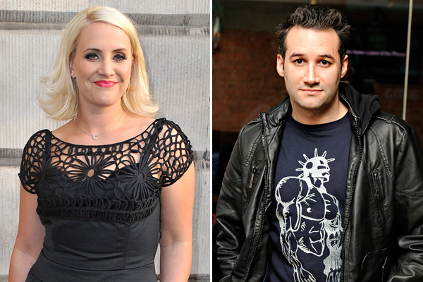 Claire Richards and Dane Bowers