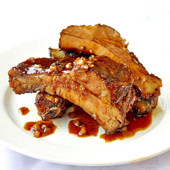 Orange Ginger Hoisin Ribs