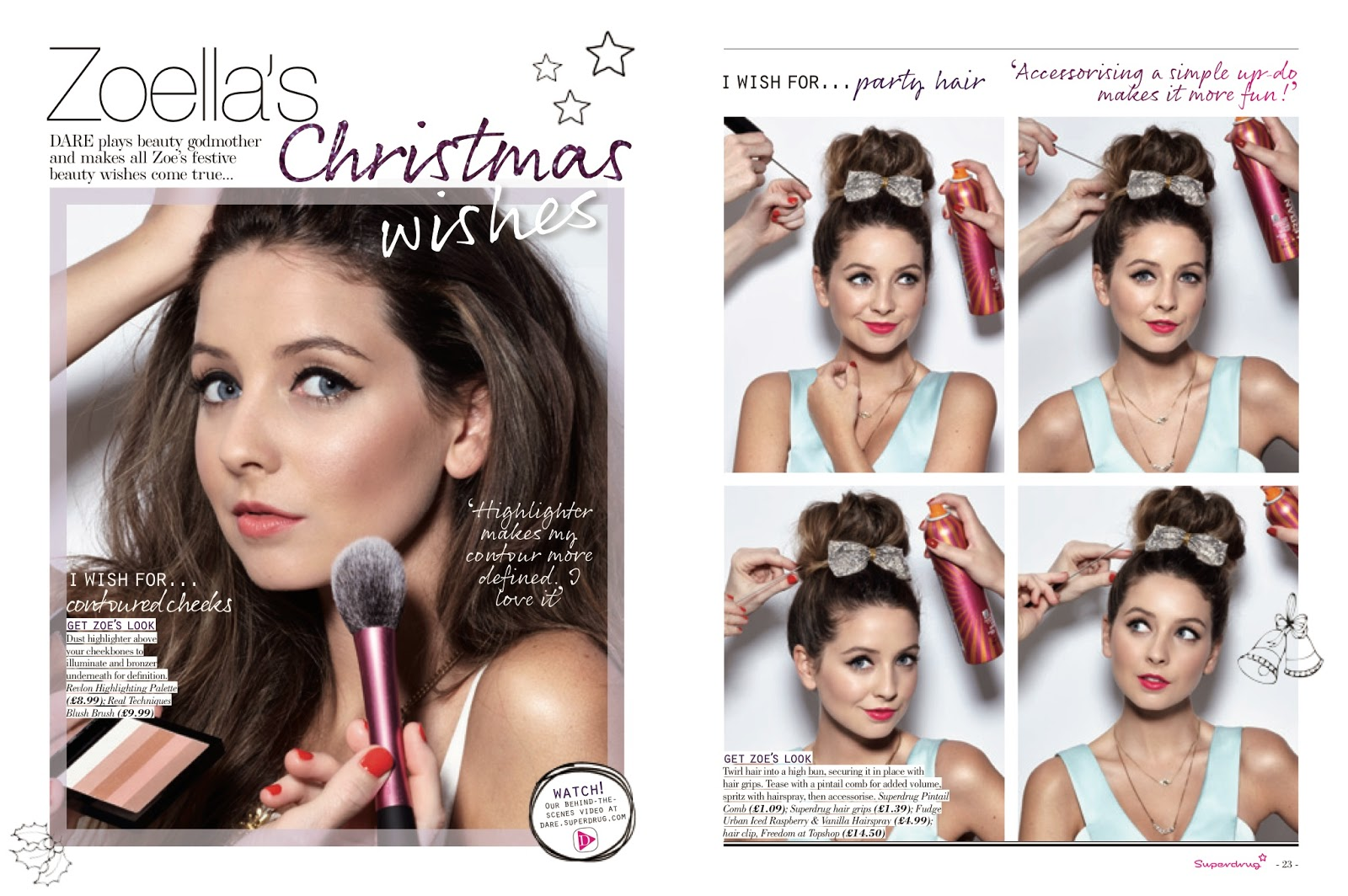 Superdrug, Miss Marnie\'s Christmas video and Zoella + a sneak peak ...