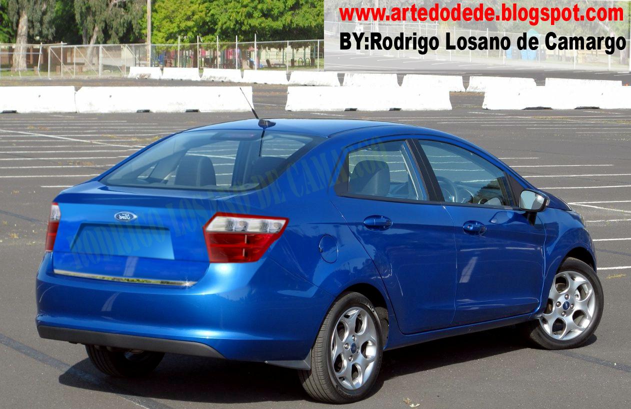 Ford irá lançar o novo Ka em 2013 como antecipado nessa matéria