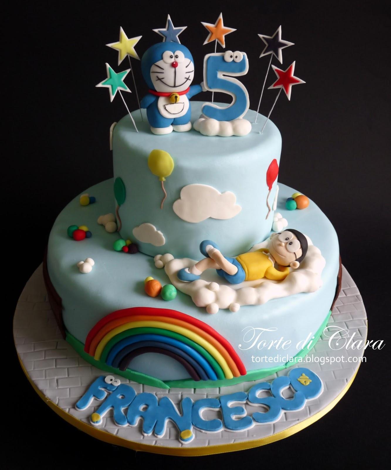 Torte di clara doraemon cake