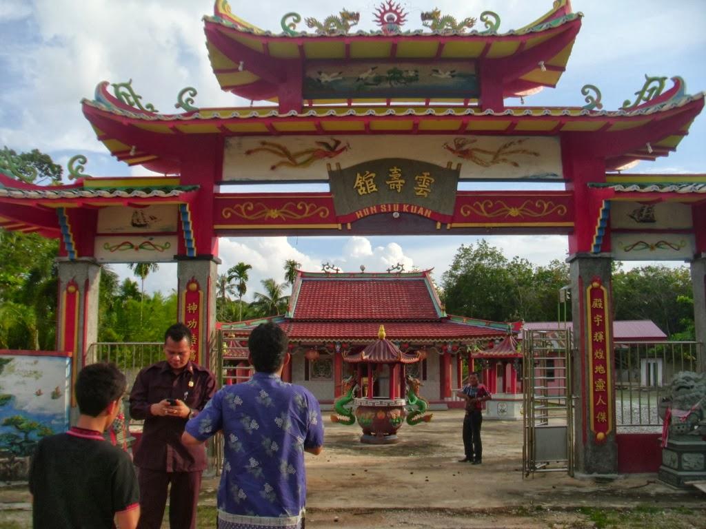 Klenteng HUN SIU KUAN di Kecamatan Bukit Batu