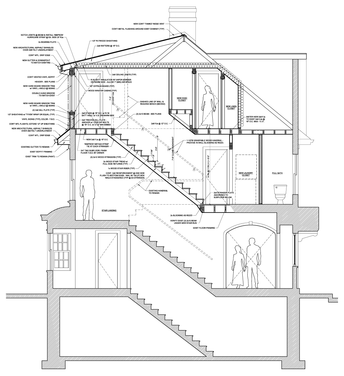 Ad arch anthony duncan architecture webster groves for Section window design
